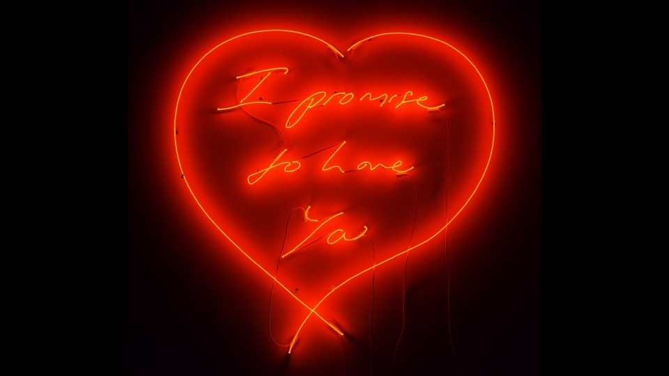 I Promise To Love Youby Tracey Emin