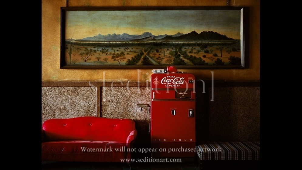 Lounge Painting 1 by Wim Wenders