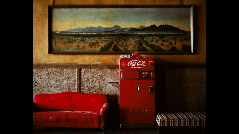 Lounge Painting 1by Wim Wenders