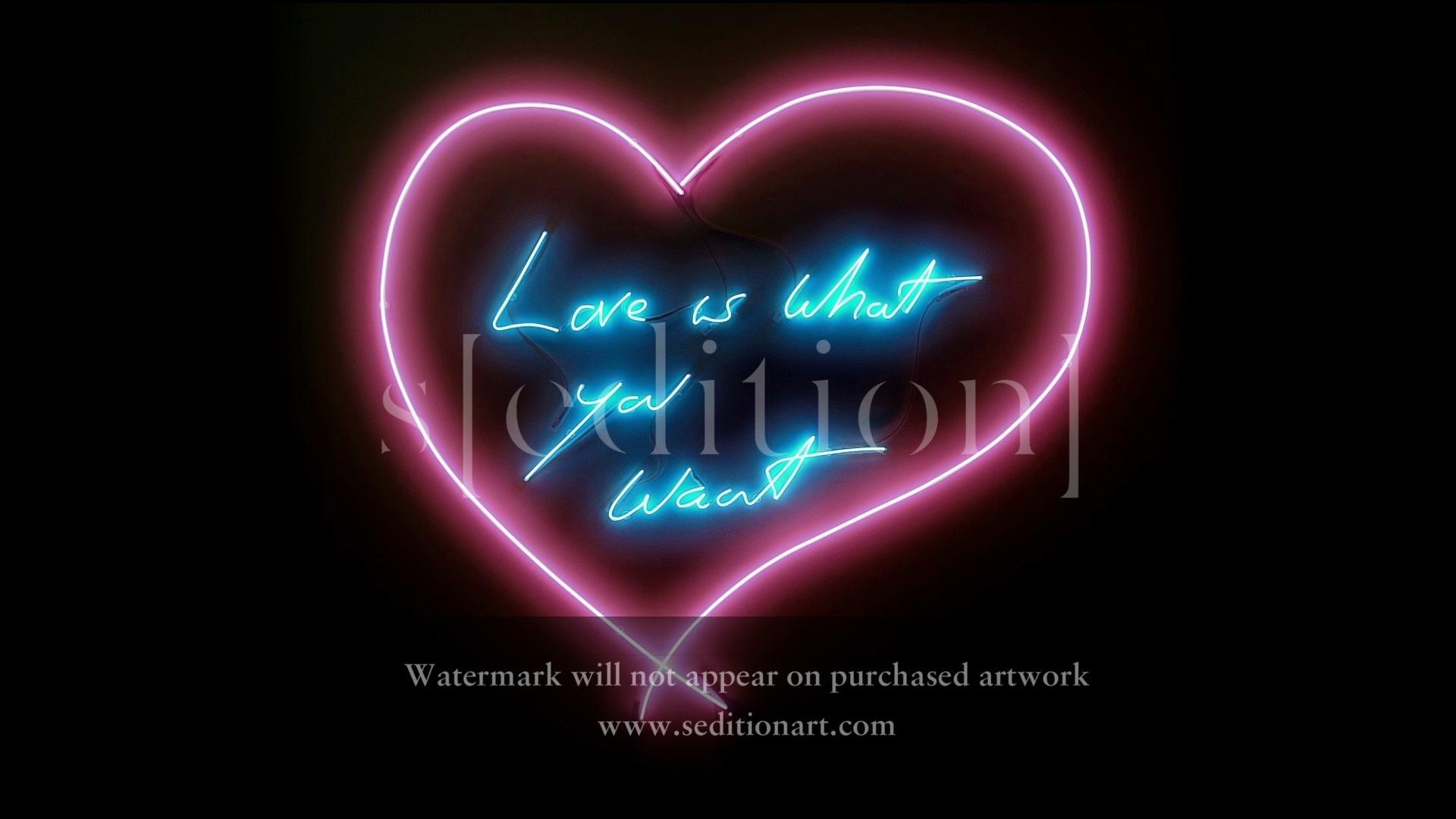 Tracey Emin Neon Love