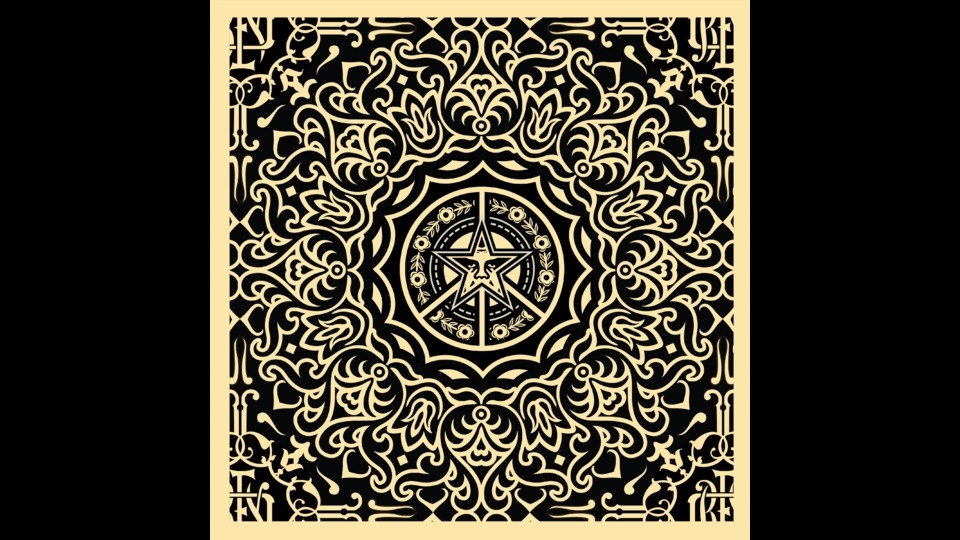 Ornate Patternby Shepard Fairey