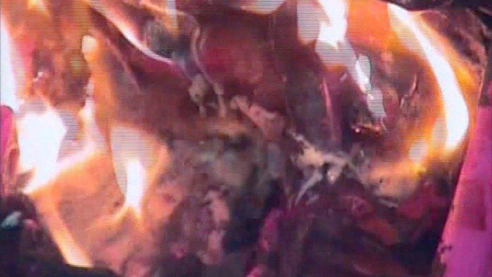 Sacrificial Mutilation and Death in Modern Art - Jackson Pollockby Jake & Dinos Chapman