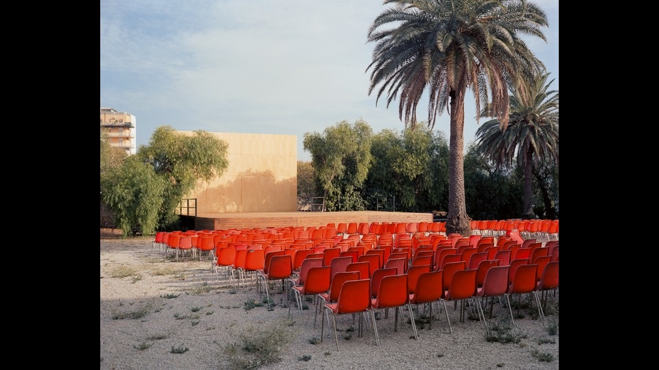 Open Air Screenby Wim Wenders