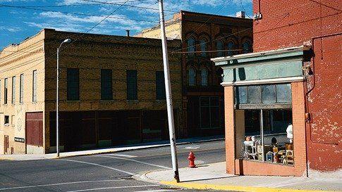 Street Corner in Butte
