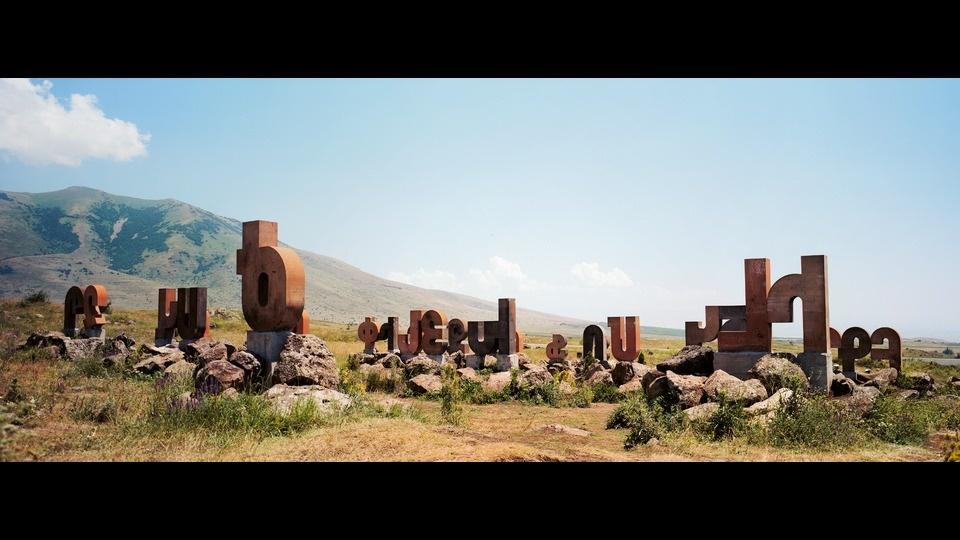 Armenian Alphabetby Wim Wenders