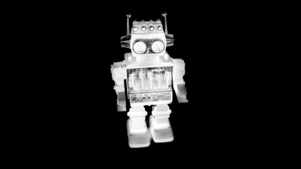Elvis Negative Robotby Dave Hacker
