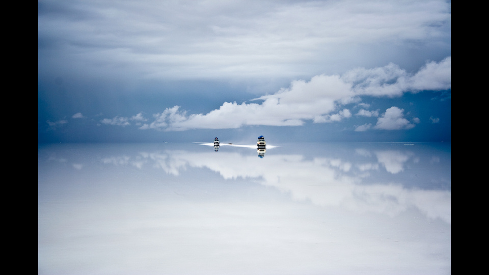 Salar de Uyuni after the rainby Guy Nesher