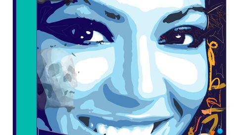 blue cookies-smiling