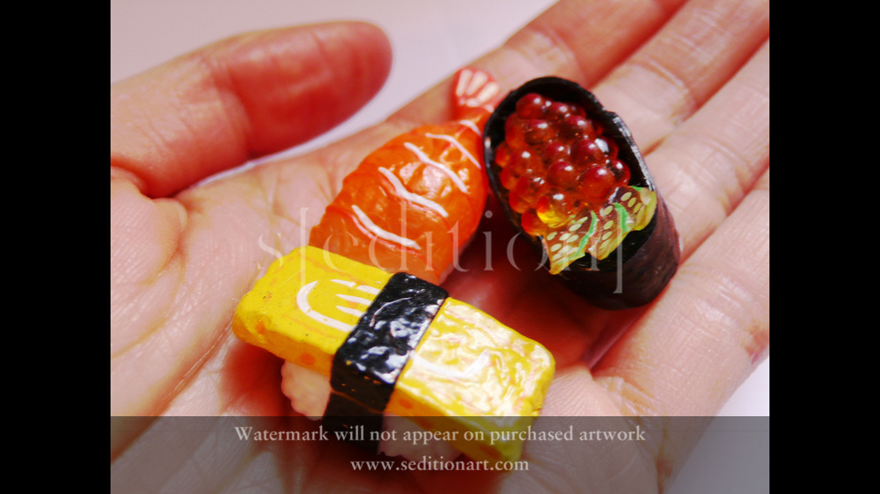 Nowhereland Sushi Hand by Eugenia Lim