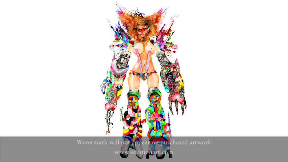 Mad Park Metal Bikini by David Choe