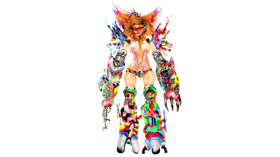Mad Park Metal Bikiniby David Choe