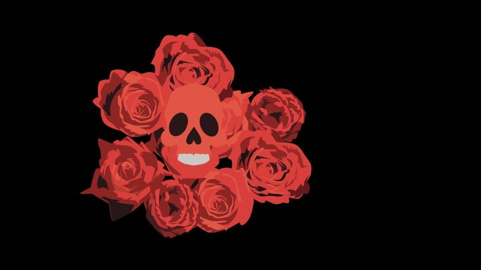 Skull & Rosesby Dustin Hostetler