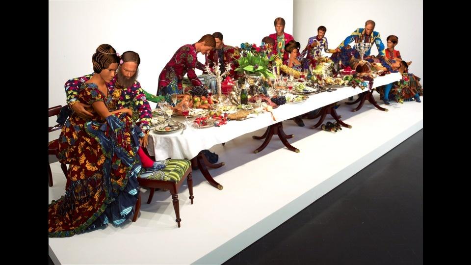 Last Supper Explodedby Yinka Shonibare