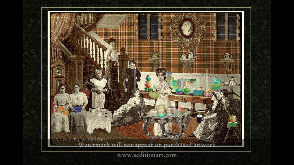 Victorian Tupperware Party by El Diputado