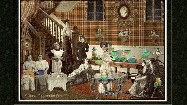 Victorian Tupperware Party
