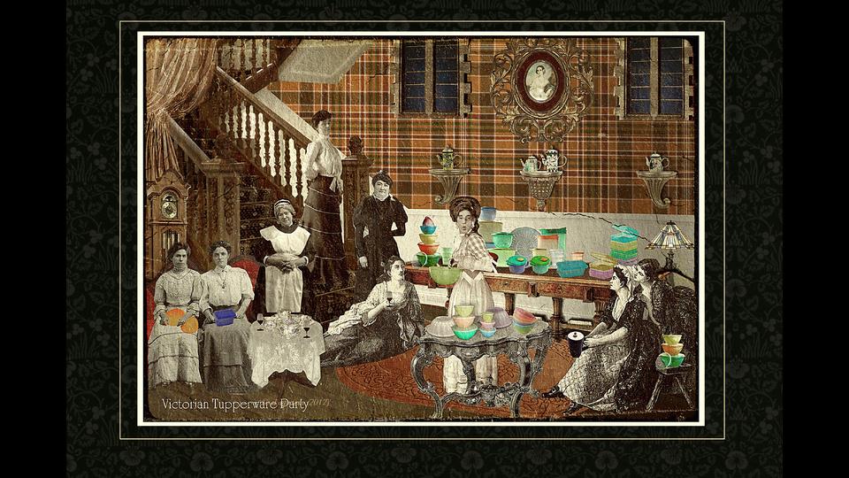 Victorian Tupperware Partyby El Diputado