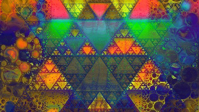 The Triangles and Circles (Shree Yantra)