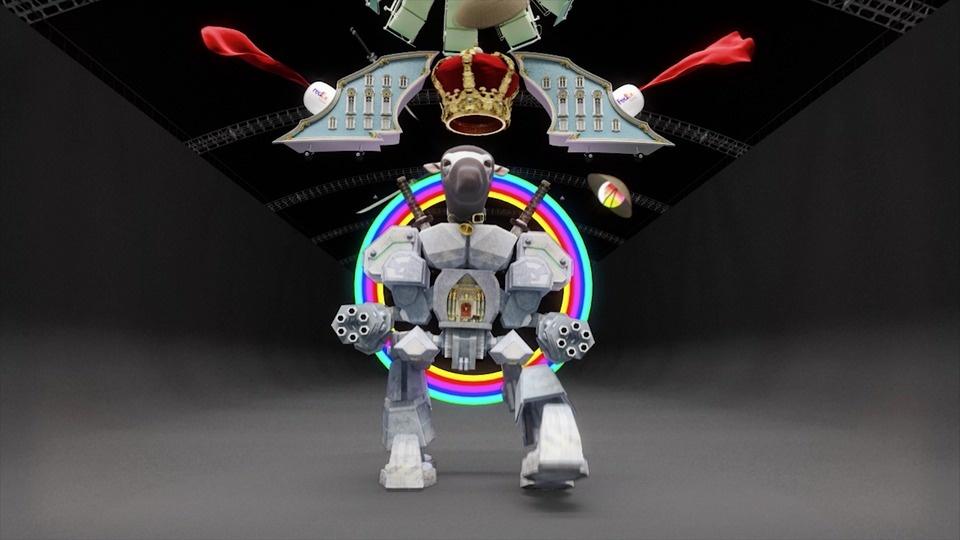 Robot Ninjaby Jonathan Monaghan