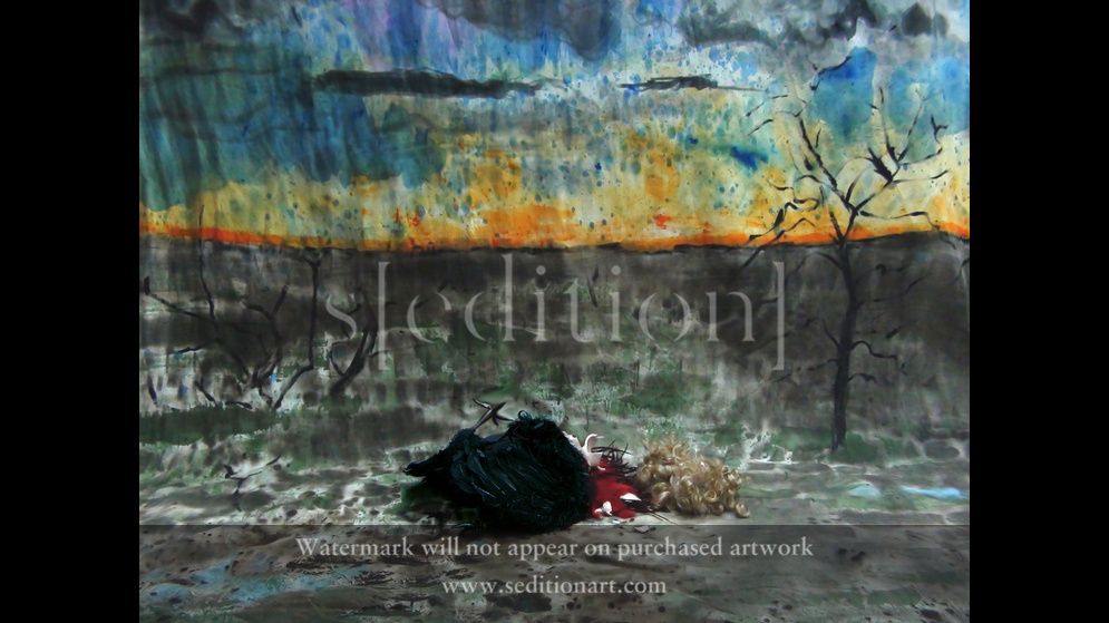 The Siren is dead by Storm Gordon
