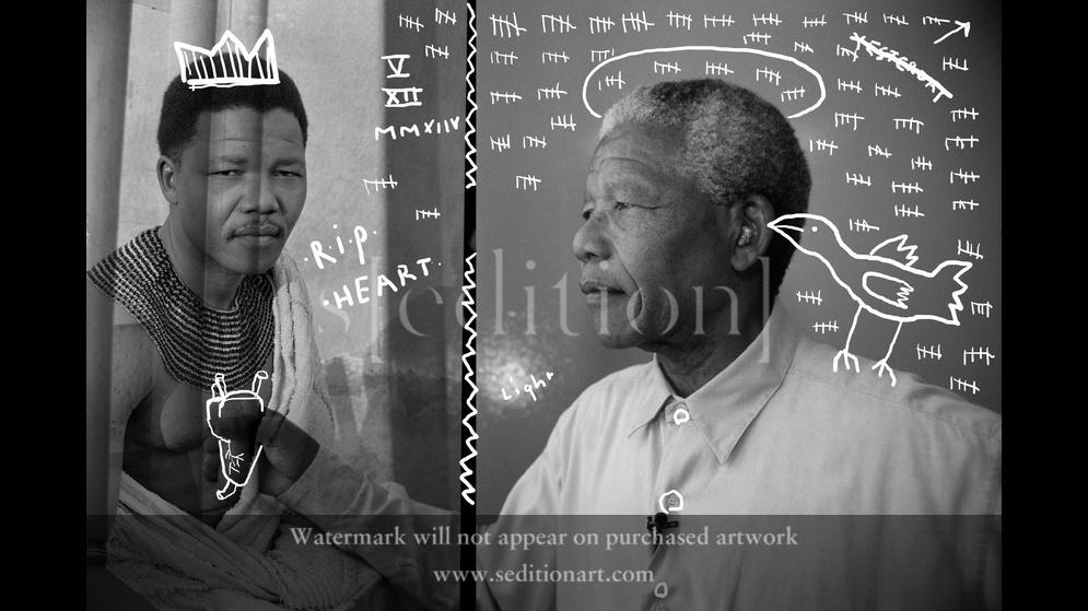 Nelson Mandela R.I.P by roemer overdiep