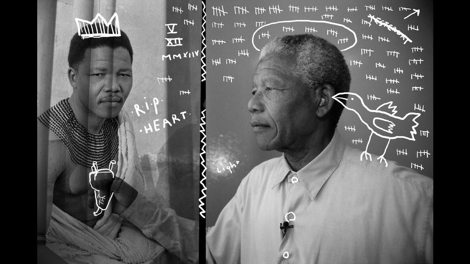 Nelson Mandela R.I.Pby roemer overdiep