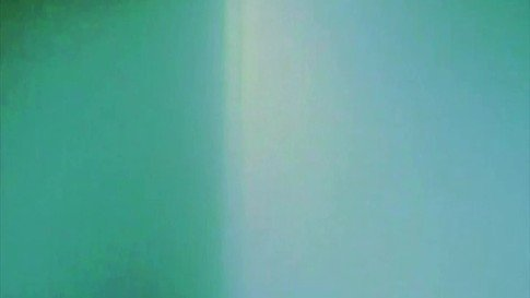 Untitled (Blue/Green Line)
