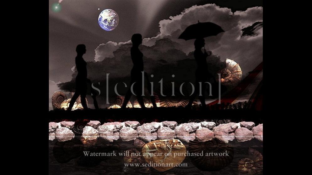 THE PEOPLE WHO WALKED AWAY FROM THE EARTH, Lenkiewicz, Alice, 2012, 6000 x 4920 pixels, 4.66 MB by Alice Rhenna Lenkiewicz