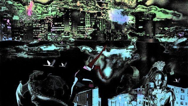 In the Sky with Swans. Lenkiewicz, Alice, 2012, 4989 x 5000 pixlels