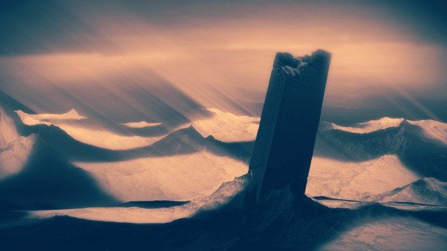 孤独的巨石