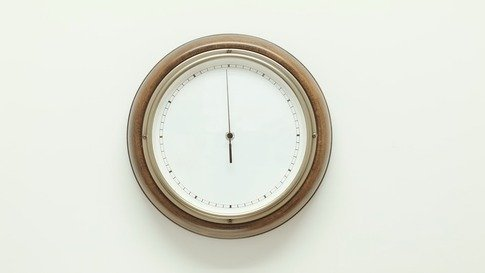 Clock With One Hand
