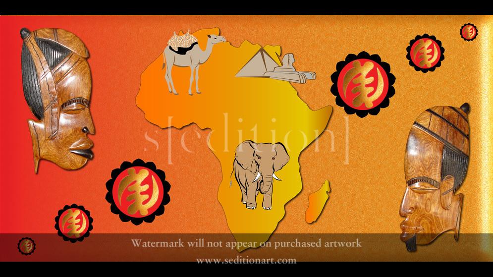 Africa Image 1 by Benjamin Asante