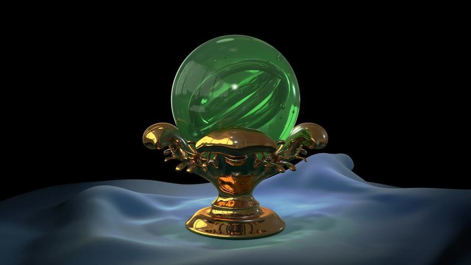 Chlorophyll Torus (Incantation Orb II)by Ben Wheele