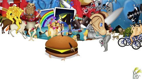BurgerBoy and Businessman