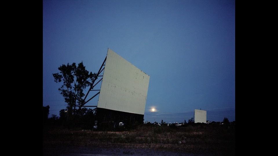 Drive-In At Nightby Wim Wenders
