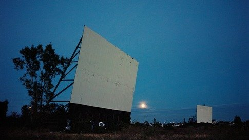 Drive-In At Night