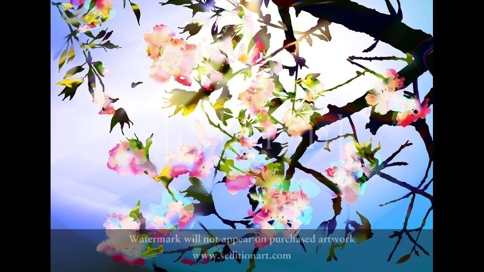 Cherry Blossom 0625_01 by Dolors Manrubia
