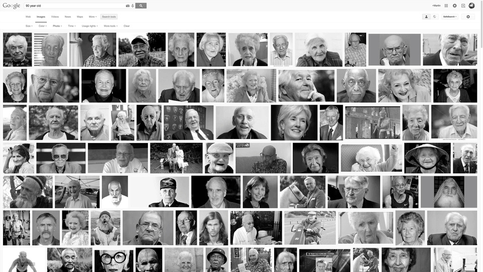 100 Year Image Searchby Martin Brink
