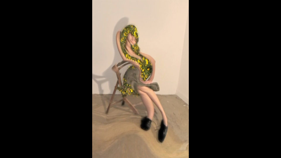 Study for figure (Miki)by Doron Golan