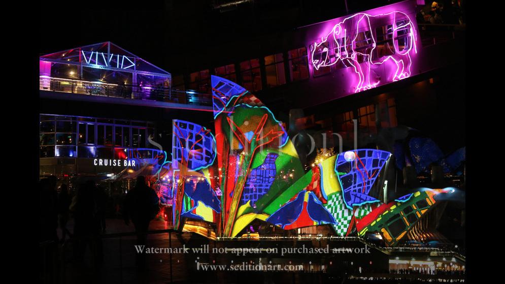 Light Up Sydney by Lisa Rhodes