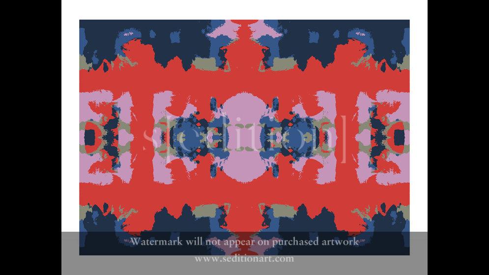 Red-Form-Quadrants 1 by Inglis Thorburn