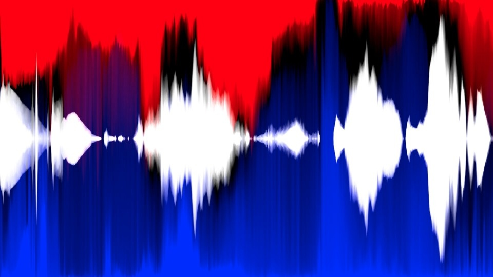 Freedom: Red, White and Blue (Quantified and Aggregated)by Matthew Biederman