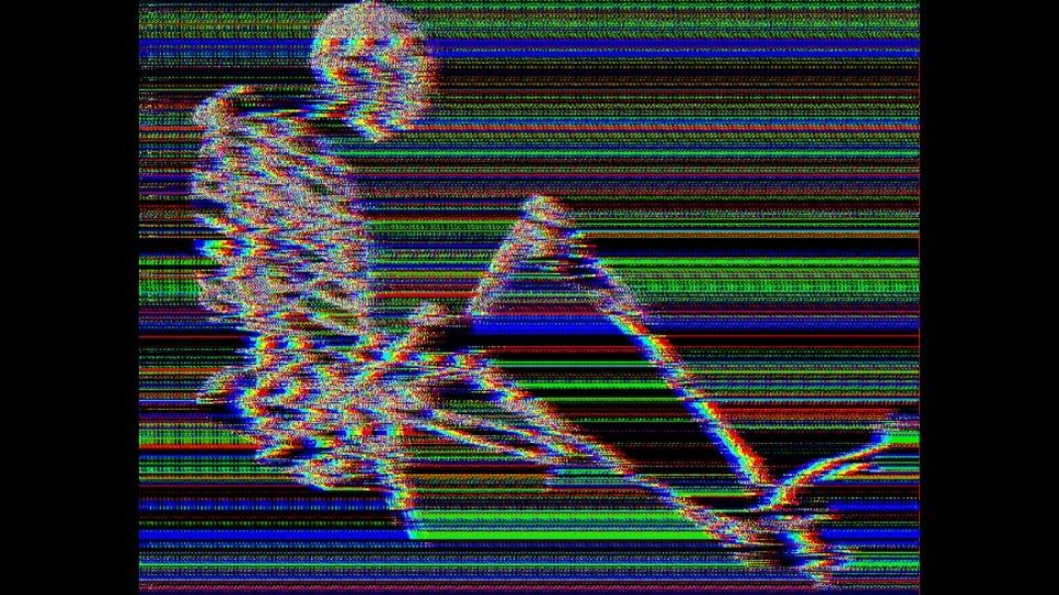Man walking in the darkby Ermakova Ekaterina