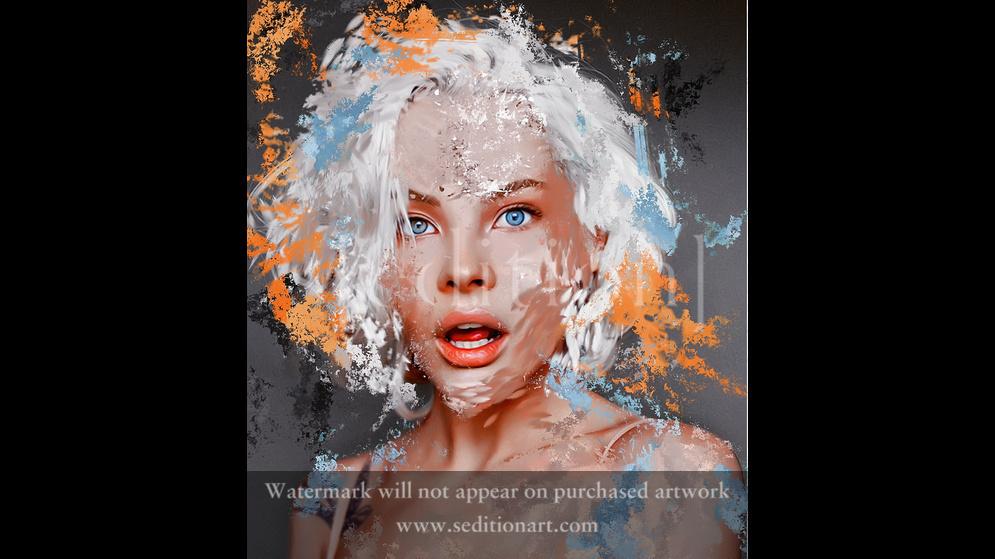 Digital portrait by Alena