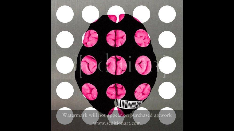 pink brain by yuja