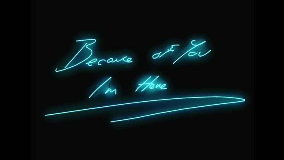Because Of You I'm Hereby Tracey Emin