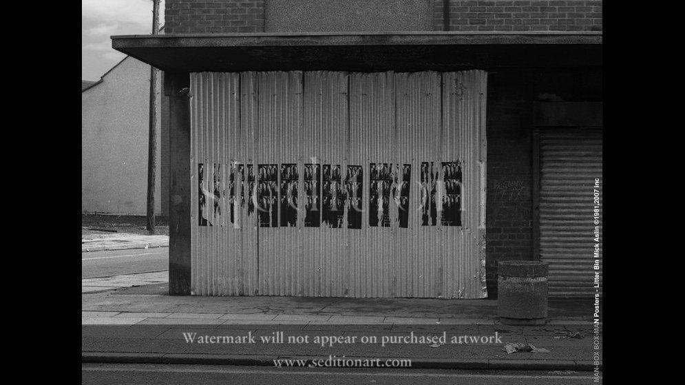 posters-litter-bin by Mick Aslin