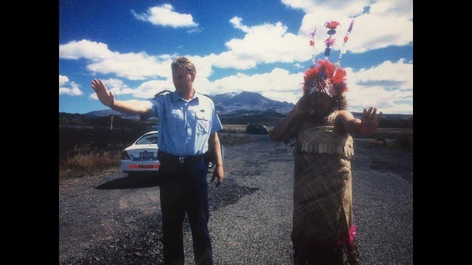 Taupou and Constable, 2000by Leafa Wilson