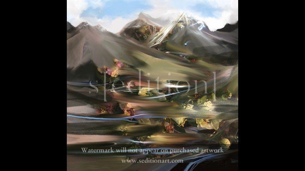Mountain Streams by Brian Middleton