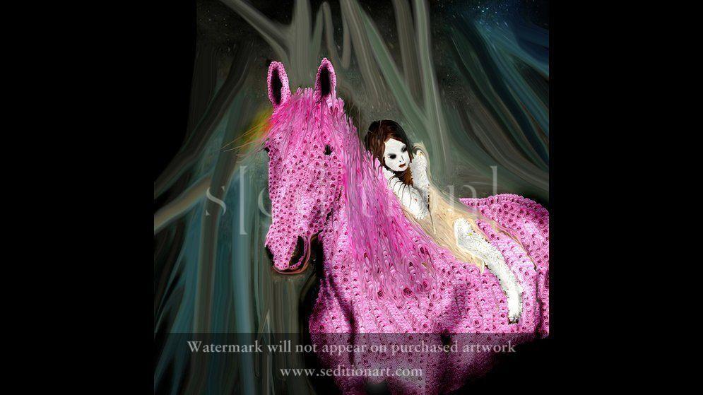HORSE SCENE by Massimo Brazzini
