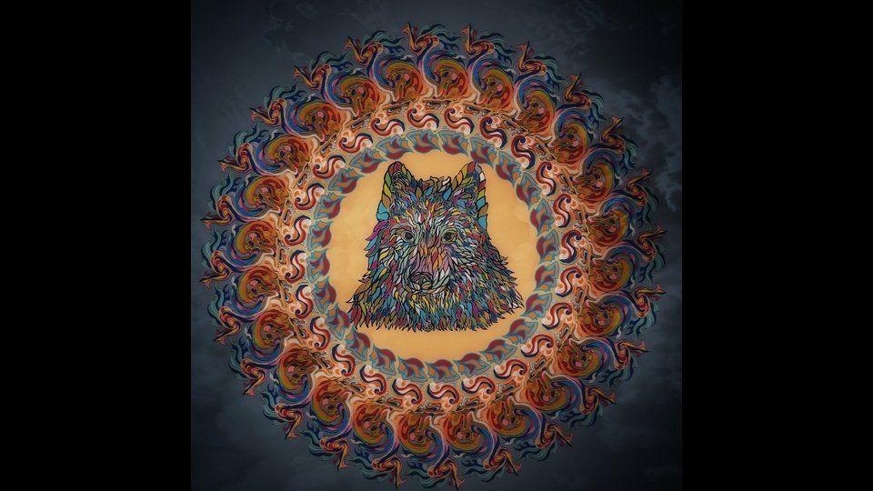 Mandala Wolfby Fabio